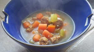 My interpretation of Italian Wedding Soup